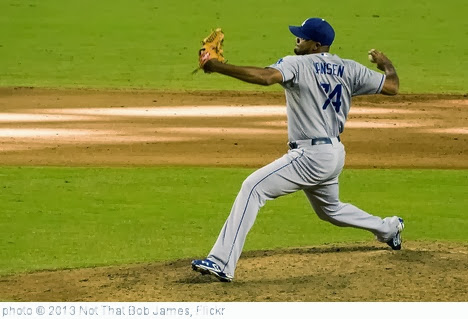 'Kenley Jansen' photo (c) 2013, Not That Bob James - license: http://creativecommons.org/licenses/by-nd/2.0/