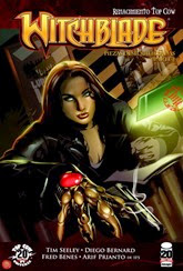Actualización 27/01/2015: The Witchblade - Floyd Wayne y K0ala, nos traen un número mas: The Witchblade #152.