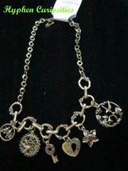 Charm Necklace, hyphen