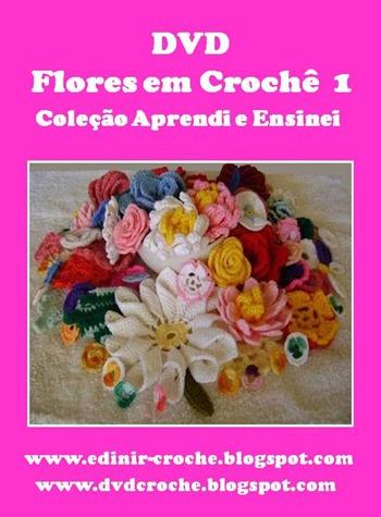 DVD FLORES EM CROCHE 1