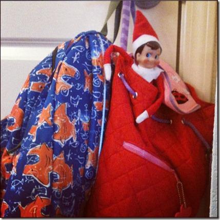 Off to School Elf