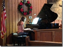 Ansley piano recital