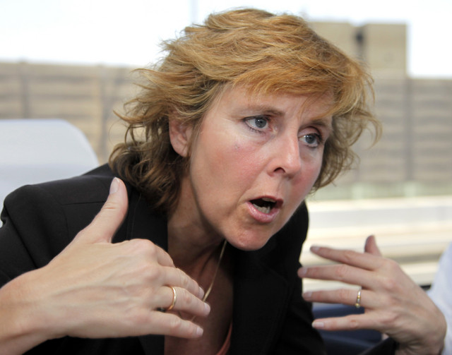 European Union Climate Commissioner Connie Hedegaard said she hasn't yet won backing for her demand for a 'road map' pointing to the next climate treaty because some nations are holding back support. Kimimasa Mayama / Bloomberg