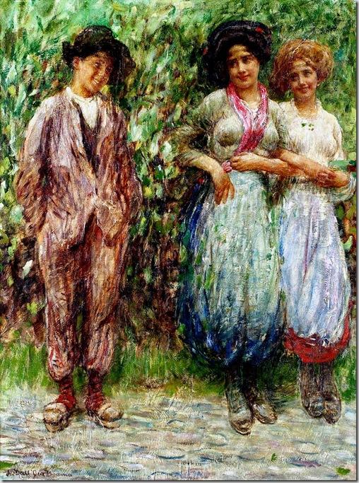 Dall'Oca Bianca Angelo Paradiso terrestre 1912