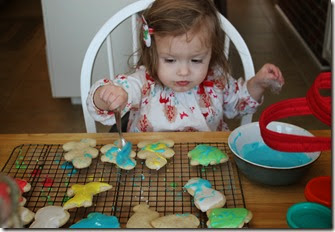 Zoey Making Christmas Cookies on Christmas Eve7