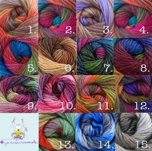 Hoop-la Colour Chart