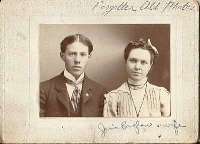 Jim Biglow and wife Sept 5  1905 CP
