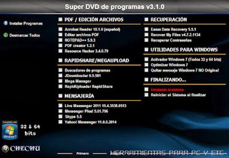 Todo En Uno 2012 2 Dvd