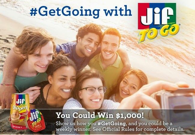 Jif to Go #GetGoing