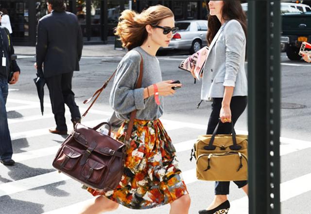 Street-Style-Full-Print-Skirt- -An-Oversized-Sweater-Jak-Jil-for-Style.com-1