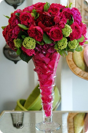 Pink-and-Green-Tall-Centerpiece
