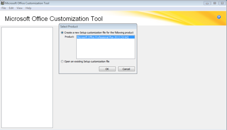 Running the office customization tool for office 2013 - Office customization tool ...
