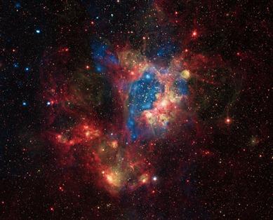 aglomerado de estrelas NGC 1929