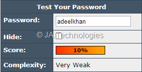 Tips for Using Strong Password
