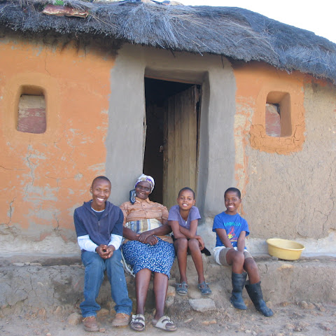 Karabo lives with her grandma and two brothers, her mother works far away in the city and her dad died of a disease.