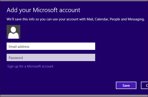 add your microsoft account