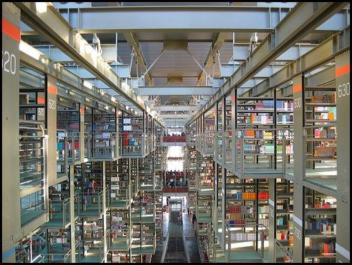 Bibliothèque José Vasconcelos, Mexico DF_2