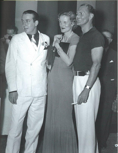New York in the '30s is a place and time I would just love to visit, especially at the Waldorf's Burlesque Ball.  Duke's ensconced by husband, James Cromwell, and friend, Jack Hearst.