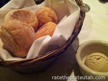 Christopher's Rolls and Balsamic Butter