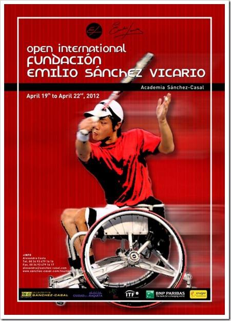 ITF I Open Internacional Fundación Emilio Sánchez Vicario, tenis en silla de ruedas.
