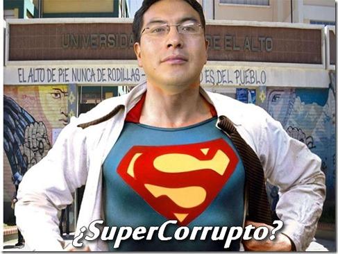 Los conflictos y la corrupción en la UPEA