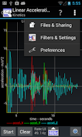 Screenshot of Sensor Kinetics Pro