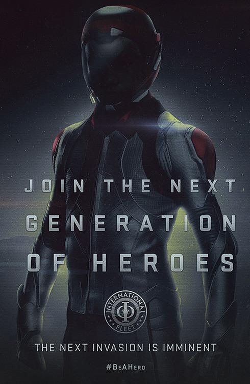 Ender's Game Propaganda Poster 1
