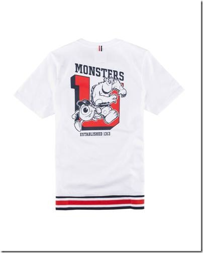 Monster University X Giordano - White Tee shirt  Men