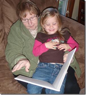 Reading farm books for kids