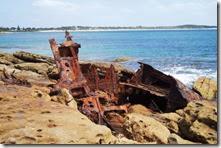 Wreck of Merimbula 23.2.10