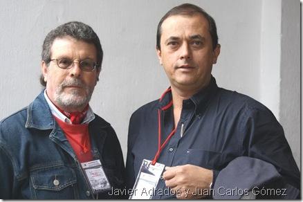 Javier Adrados y Juan Carlos Gómez