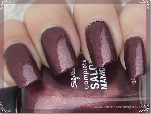 sally hansen haute chocolate 3