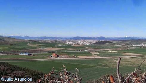 Panorámica de la Cuenca de Pamplona