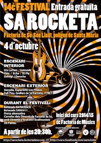 Cartell Sa Rocketa 2014