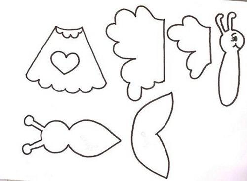 molde de borboletas www.ensinar-aprender.blogspot.com022