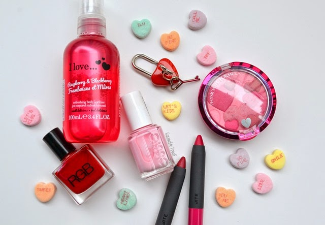 Valentine S Day All Things Pink And Red Beauty Round Up Cosmetic