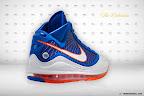 nike air max lebron 7 pe hardwood blue 5 03 Yet Another Hardwood Classic / New York Knicks Nike LeBron VII