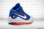 nike air max lebron 7 pe hardwood blue 5 03 Yet Another Hardwood Classic / New York Knicks Nike LeBron VII
