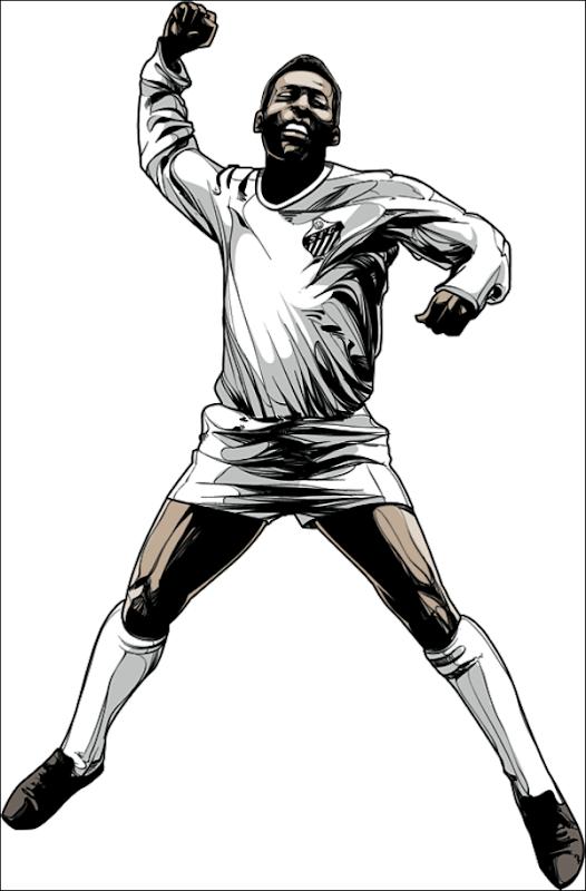 Pelé - Joueur de football