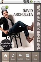 Screenshot of David Archuleta