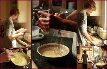 rick bakt taart 2011_09_11