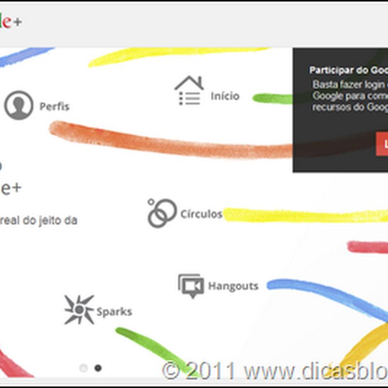 Google+ – uma nova rede social