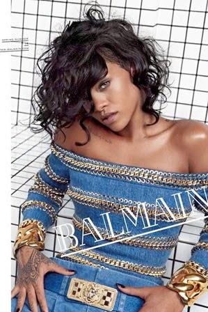 Rihanna Model for Balmain