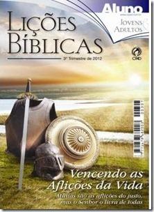 CAPA LIÇÃO 3º 2012