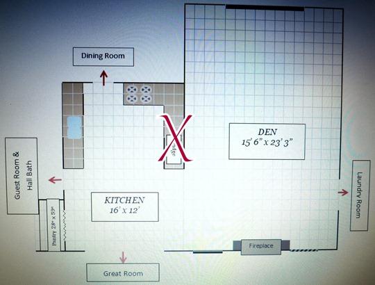 kitchen floor plan  dwellings-theheartofyourhome.com