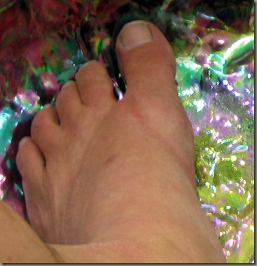 pedicure _before