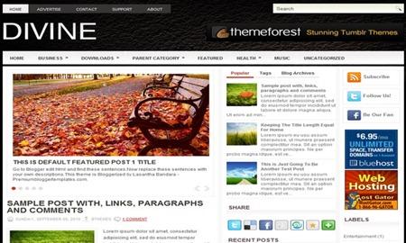 Divine-Blogger-Template