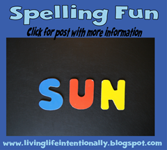 road trip games - spelling fun