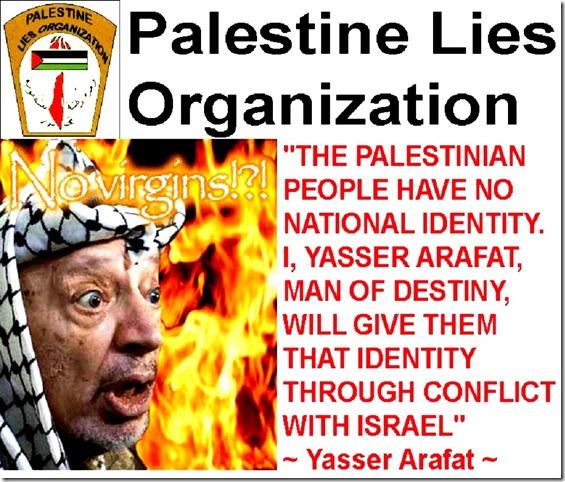 PLiesO - Arafat Burning in Hell