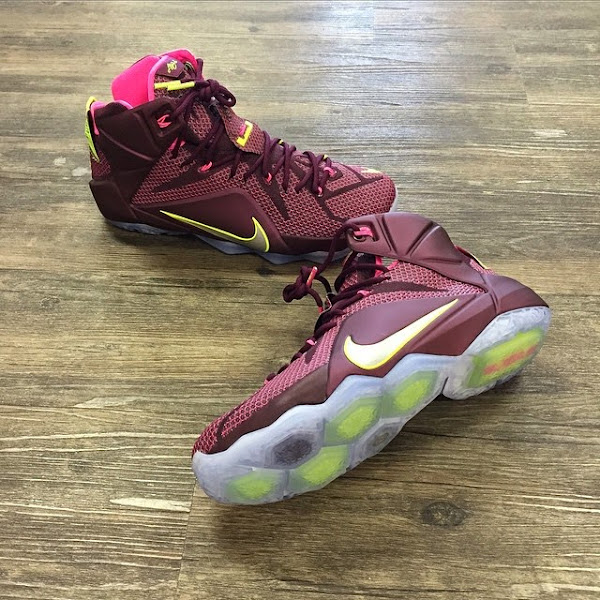 Leaked Nike LeBron 12 8220Double Helix8221 Due on Feb 28th